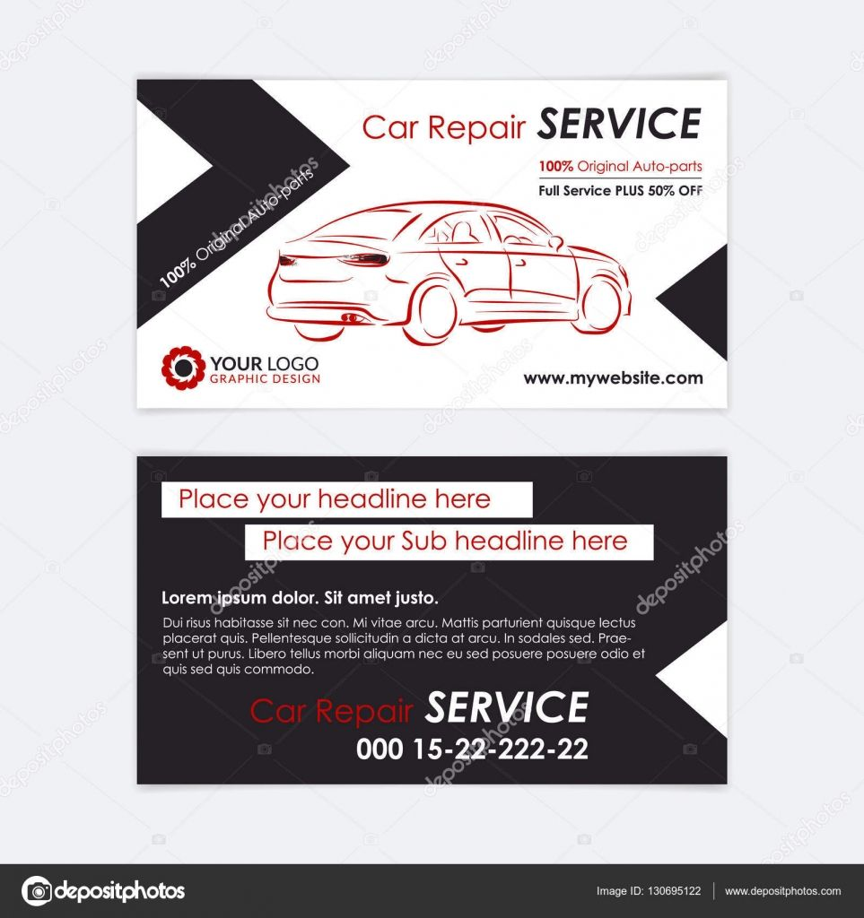 The Glamorous Automotive Business Card Templates Auto Repair Business Intended For Autom Free Business Card Templates Create Your Own Business Card Templates