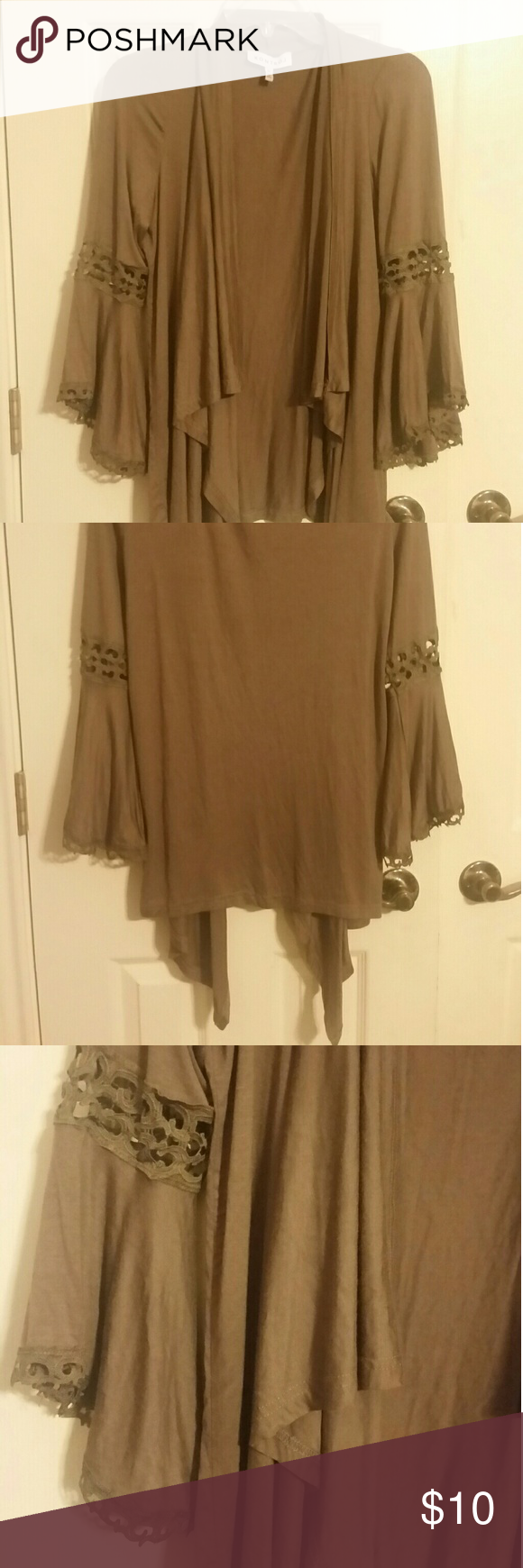 Brown Shrug | Lace detail, Brown and Customer support