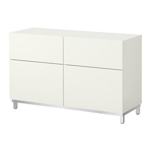 Kitchen/lab cabinet near bathroom $180  money drop?  BESTÅ Storage combination w doors/drawers IKEA