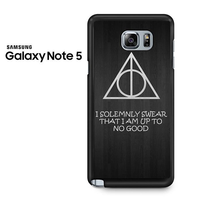 I Solemnly Swear That I Am Harry Potter Galaxy Note 5 Case