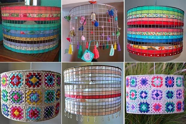 Pantallas Para Lamparas Buscar Con Google Crochet Lamp Bunny Crafts Diy Crafts
