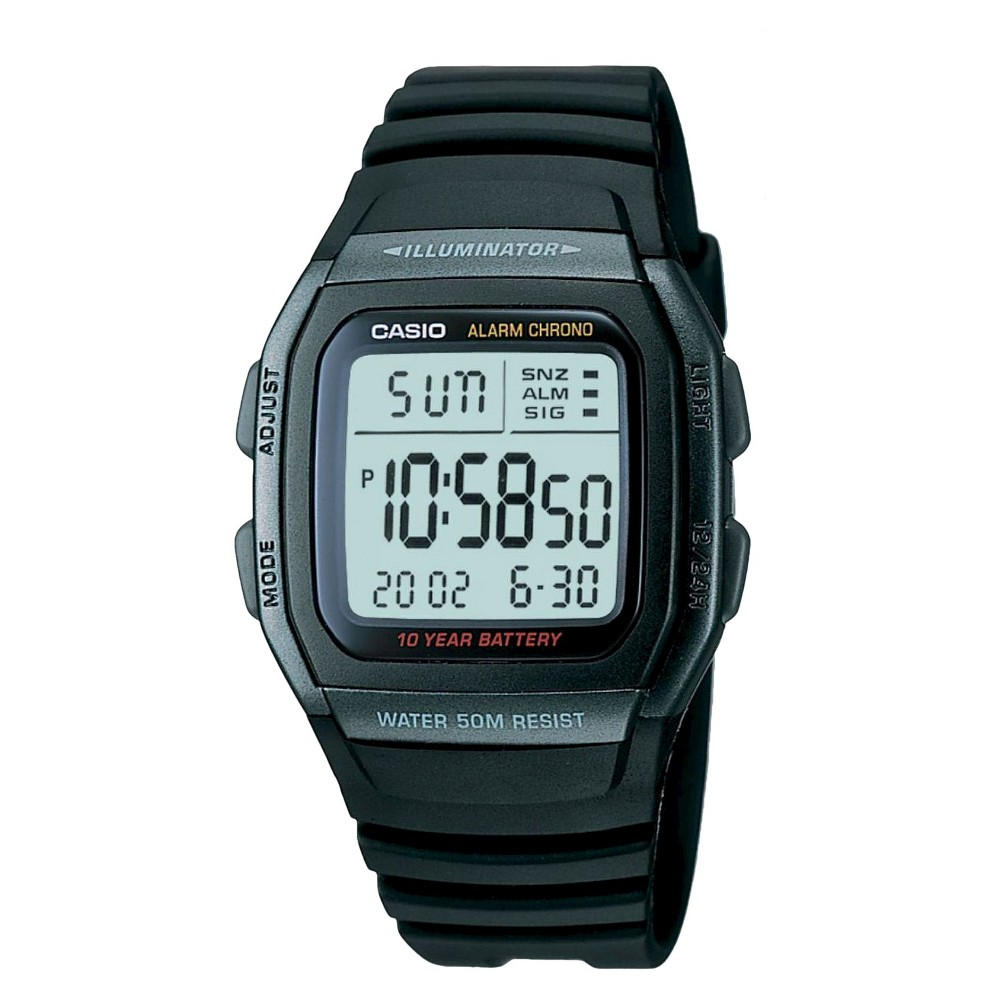 Casio Men S Classic Sport Watch Black W96h 1bv Size Small 2019 Urunler 10 Yil Ve Cift