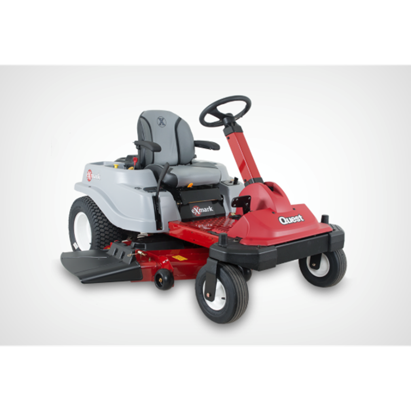 Exmark Quest 42 S Series Front Steer Zero Turn Mower Mutton Power Equipment The Concept Is Simp Zero Turn Lawn Mowers Zero Turn Mowers Best Zero Turn Mower