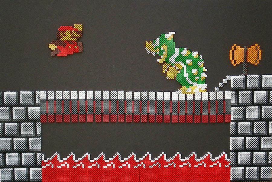 Did all of these last night which show Mario throughout the