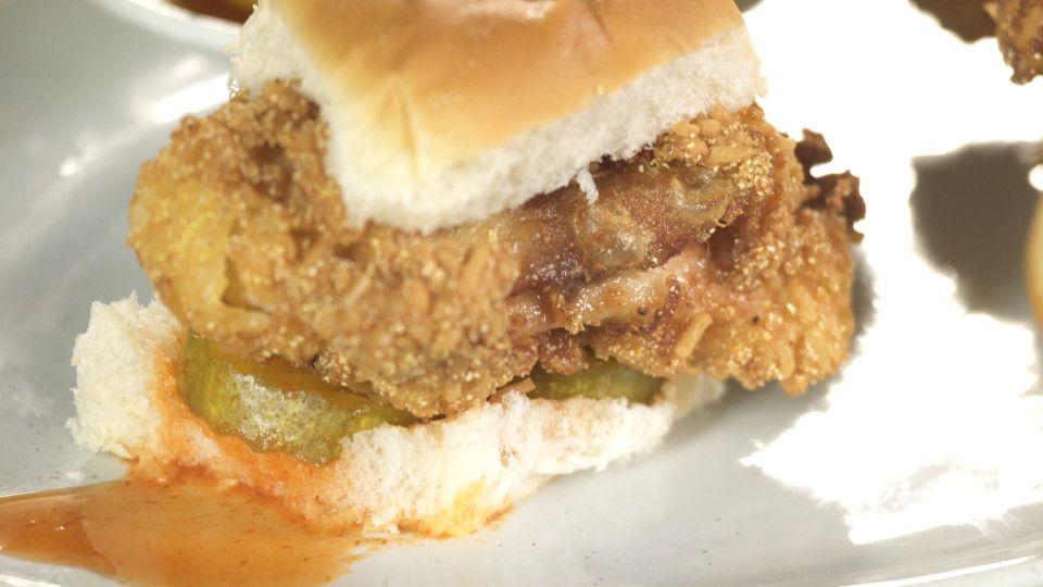 ramen fried chicken sandwiches