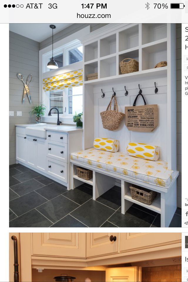Beautiful Small Functional Laundry + Mud Room Ideas And Inspiration .I Really Want A  Room For My Washer, Dry And Sink, Tired Of It Out In The Garage.