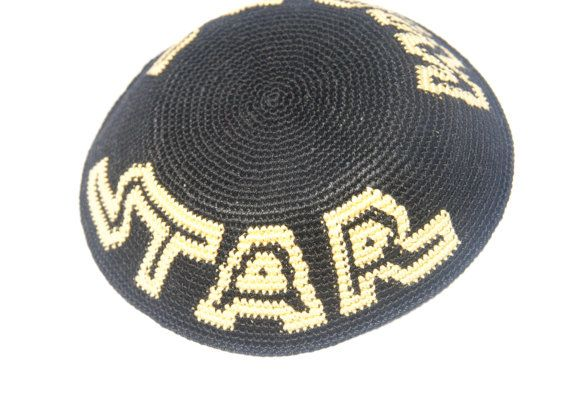Star Wars logo crochet Kippah Yarmulke, Handmade - free shipping ...