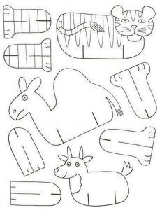 folding paper zoo  (6)