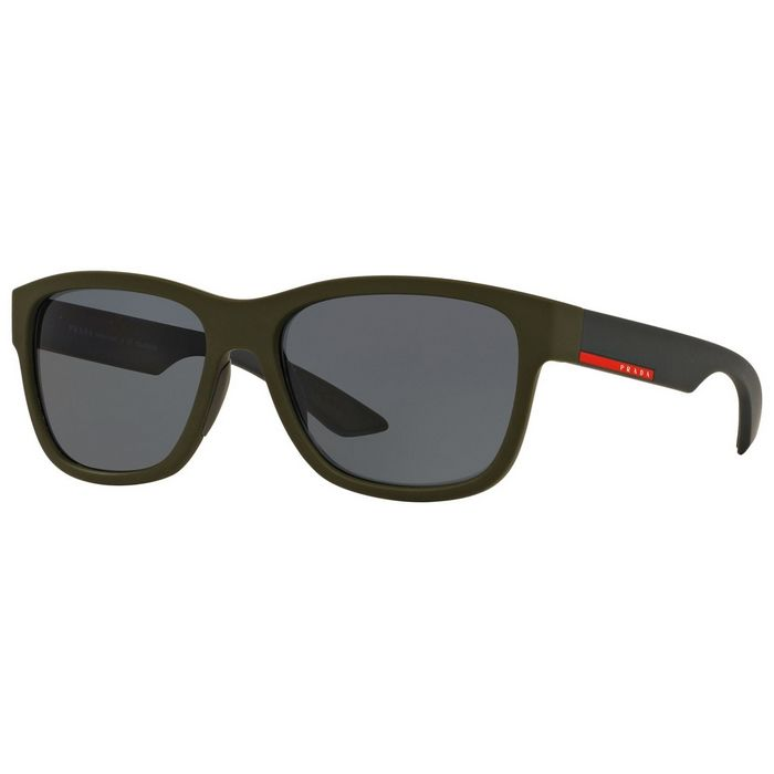 5659513a55c5e ... promo code for prada ps03qs ubw5z1 linea rossa green frame grey lens  57mm polarized sunglasses ewatchesusa