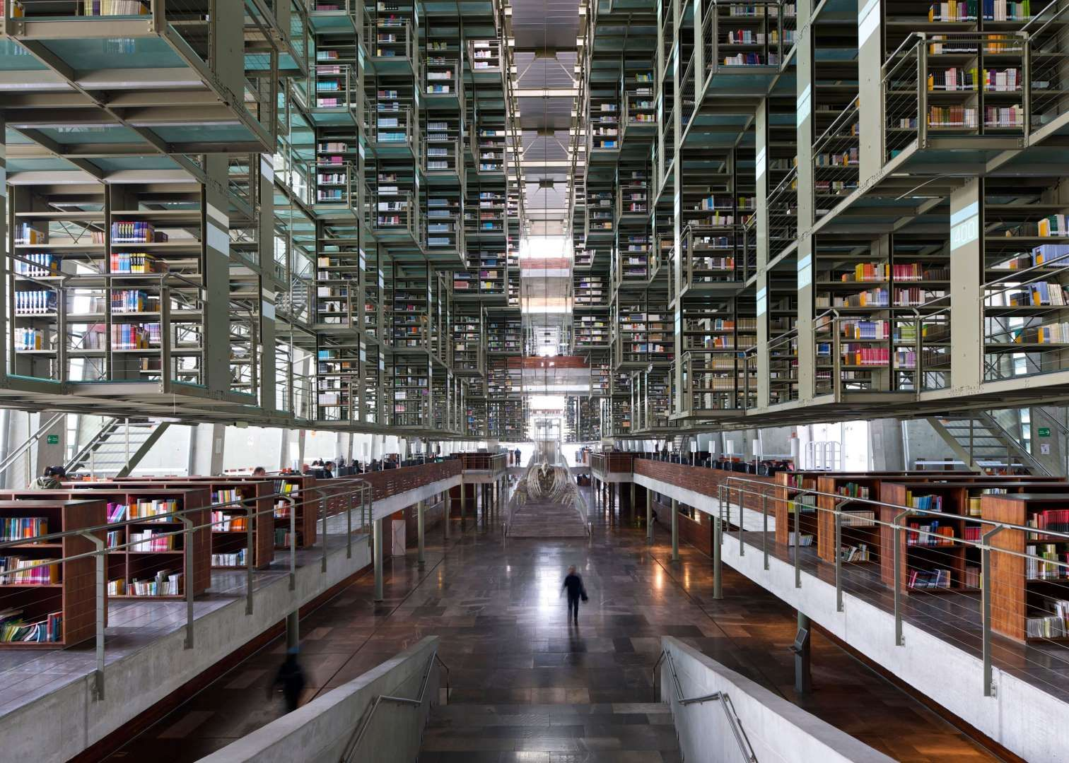 Biblioteca Vasconcelos Is Truly Something To Behold Inside You