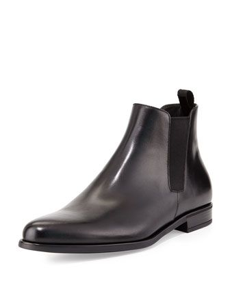 8fa41979cc67 Dress Leather Chelsea Boot Black | I love Boots, jus like my lady