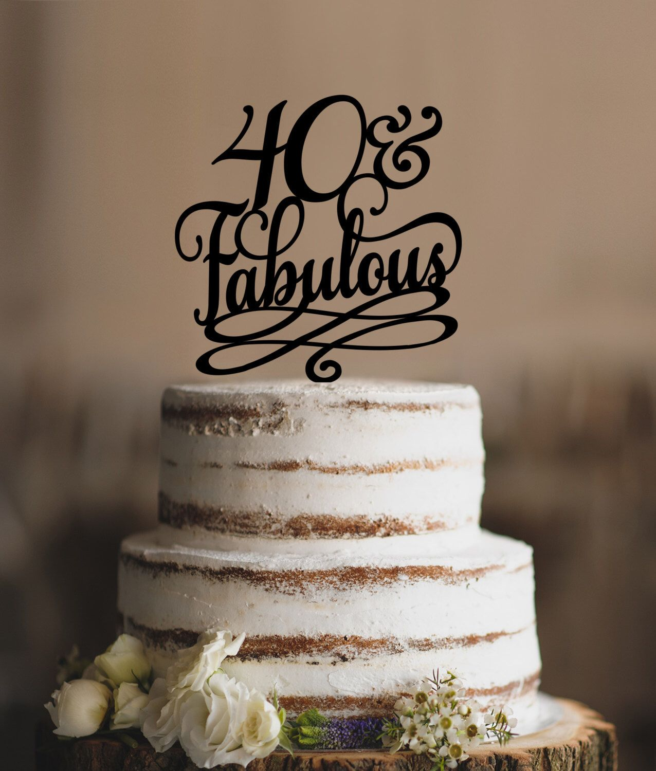 calligraphy script number topper cake topper 40 elegant custom cake topper number 60 topper number birthday cake topper Grandmas 90th,Simply 50th cake topper personalized gold cake topper