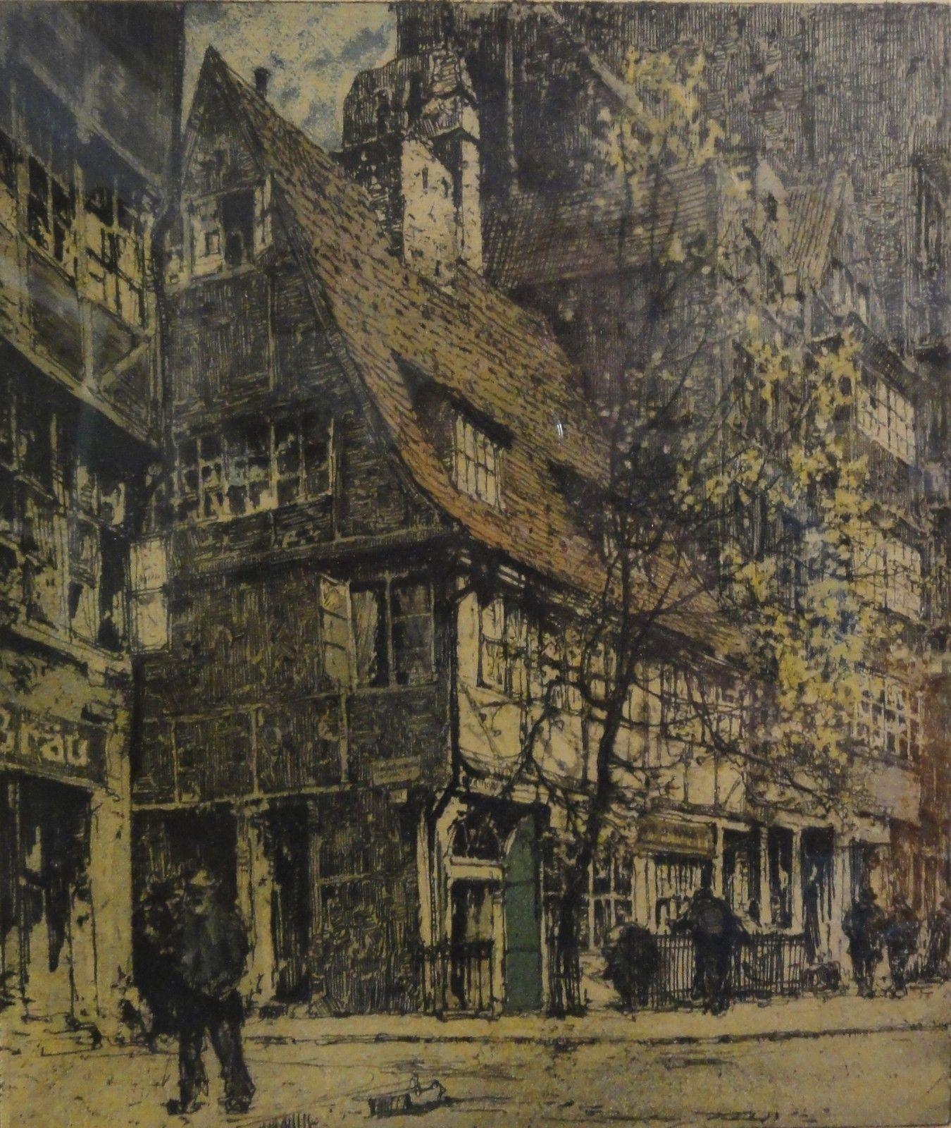 Details zu Luigi KASIMIR (18811962) handsig.+ num