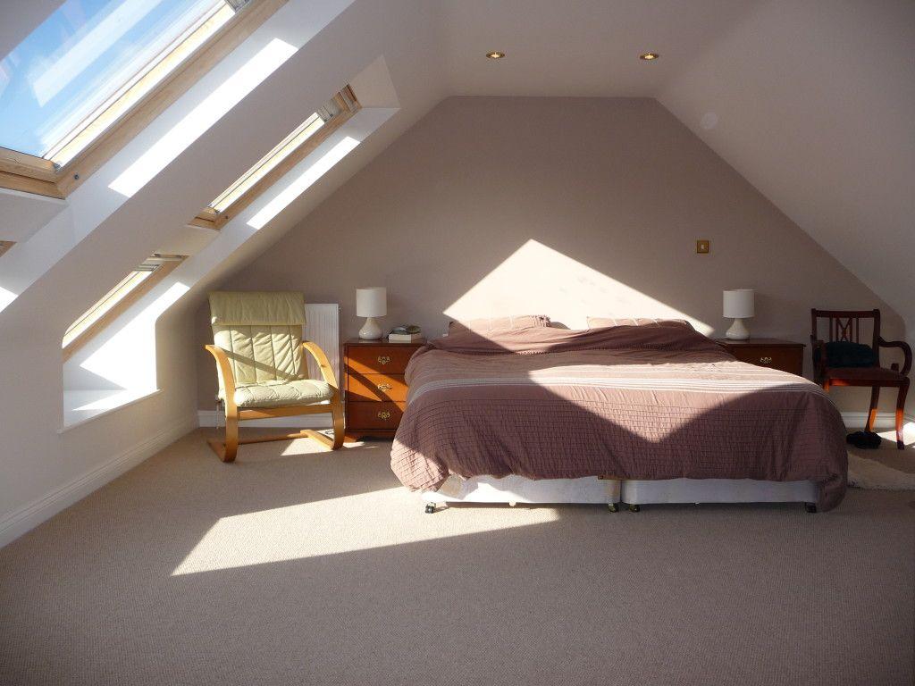 Bedroom ideas for loft rooms  Nå soverom  men stor nok plass til en loftstue og her hvor