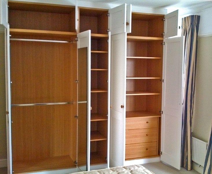 صور خزائن ملابس مودرن تصميمات خزينة الملابس 5 Fitted Bedrooms Tall Cabinet Storage Locker Storage