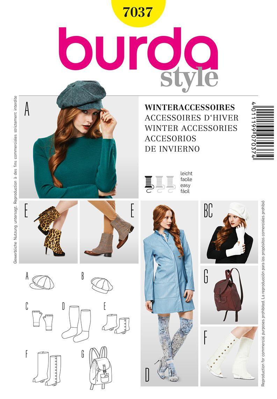 Simplicity Creative Group - Burda Winter Accessories | sewing ...