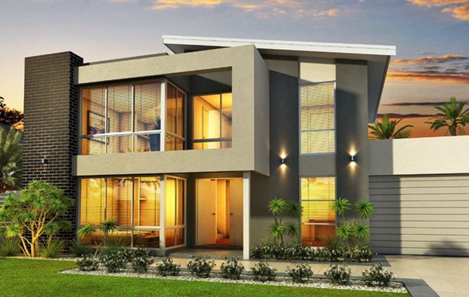 Interior Two Story Houses Designs Attractive Sheryl Four Bedroom