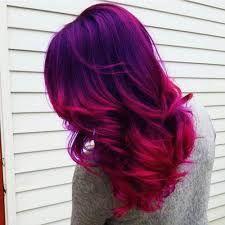 Image result for dip dye hair color for black hair