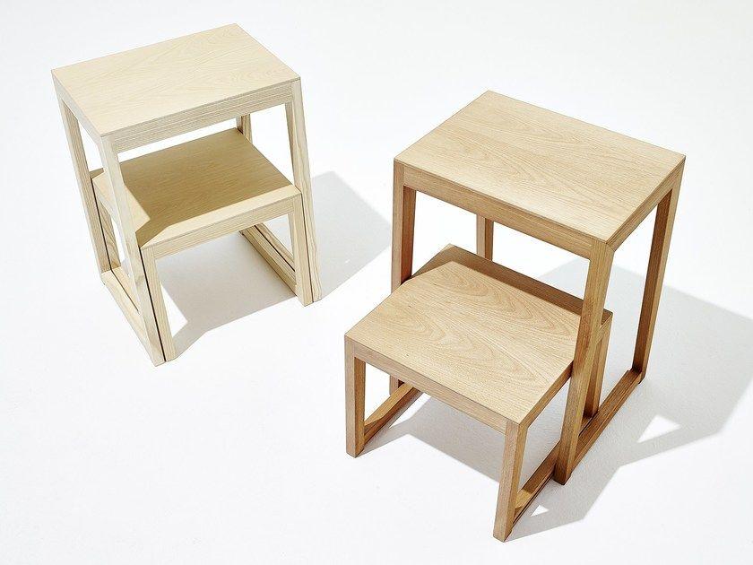 Theo Step Wooden Step Stools By Sixay Furniture Design Laszlo Szikszai Gradini In Legno Scaletta In Legno Sgabelli Di Legno