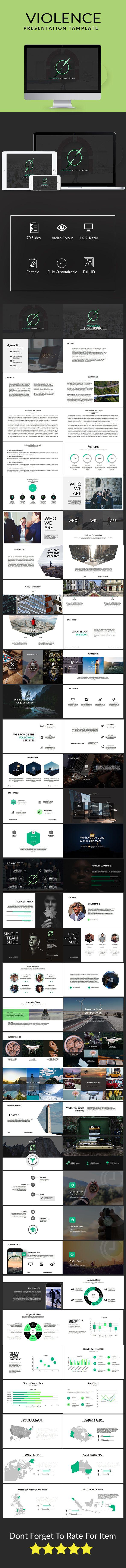 Violence multipurpose template keynote presentation templates and violence multipurpose template toneelgroepblik Choice Image