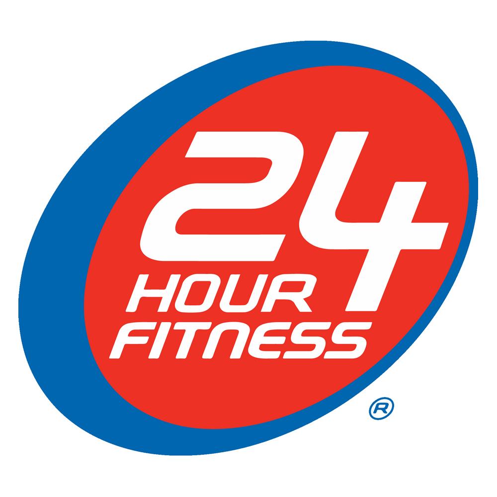 24 Hour Fitness Logo Fitness Membership 24 Hour Fitness Fitness Logo
