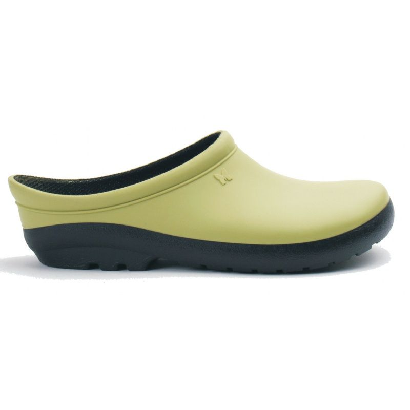 Sloggers Womens Premium Garden Clogs Kiwi size 8 GREAT shoes