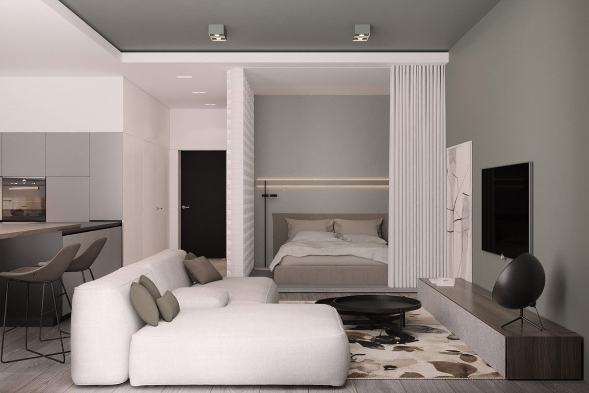 3 Luxury Apartments With Open Plan Bedroom Ideas Large Bedroom