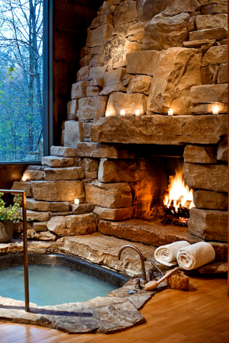Most Romantic Hotels Luxury Hot Tubs Indoor Hot Tub Rustic Hot