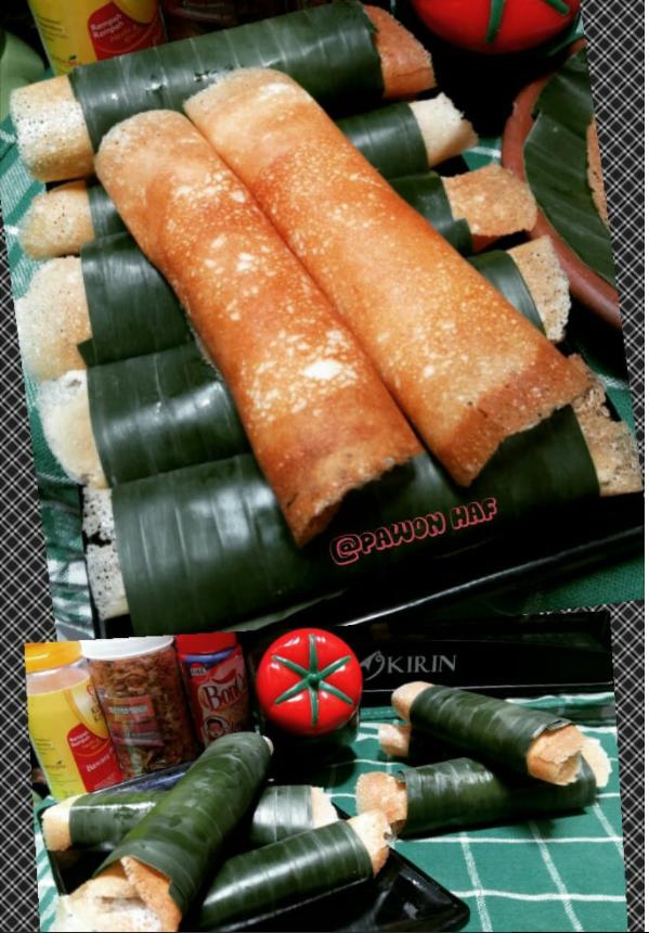 Resep Serabi Gulung Notosuman Khas Solo Sentuhan Dapur Kaesang Pangarep Resep Makanan Miniatur Ide Makanan