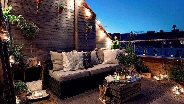 decoracion terrazas aticos chill out Buscar con Google Backyard