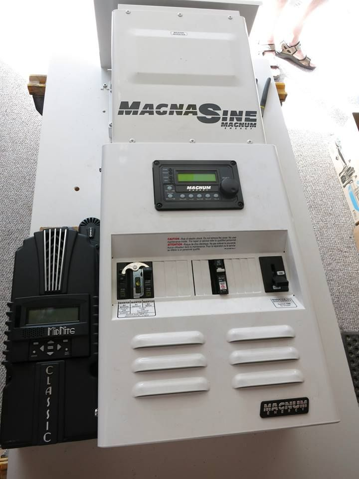 Complete offgrid and battery backup systems from iron