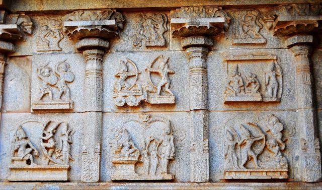 Ramayana Sculptures from Hampi: Vijayanagara