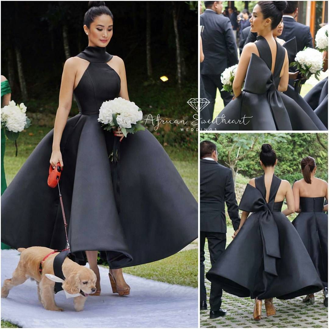 Love At First Sight! Stunning Bridesmaid In A Design By