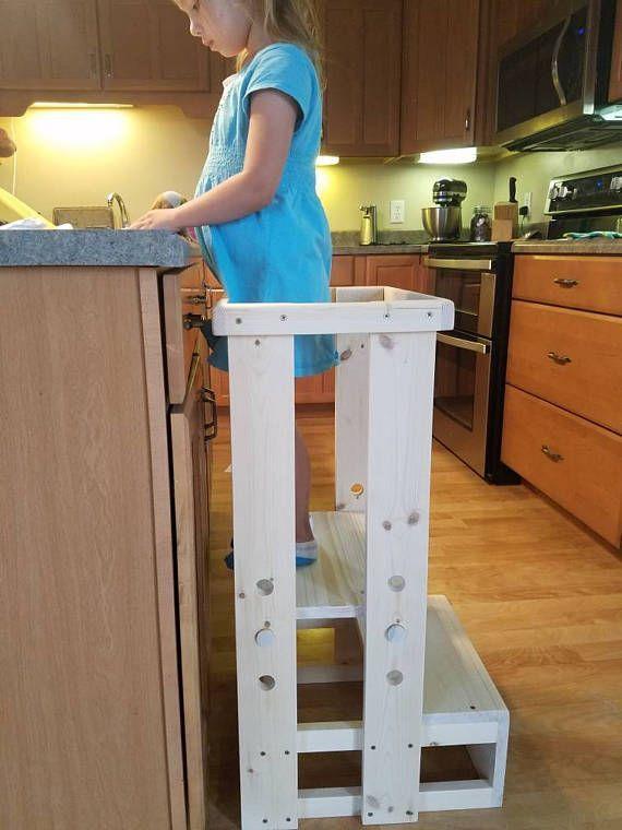 Safe Toddler stool Child Safety Kitchen Stool mommy\'s   Children\'s ...