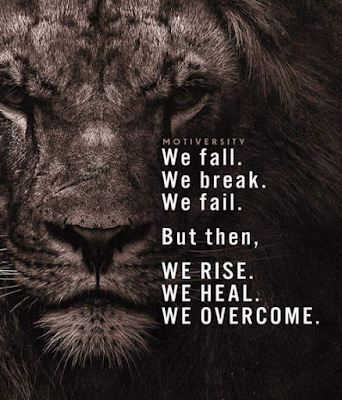 THOUGHT FOR THE DAY - WE FALL, WE BREAK, WE FAIL...