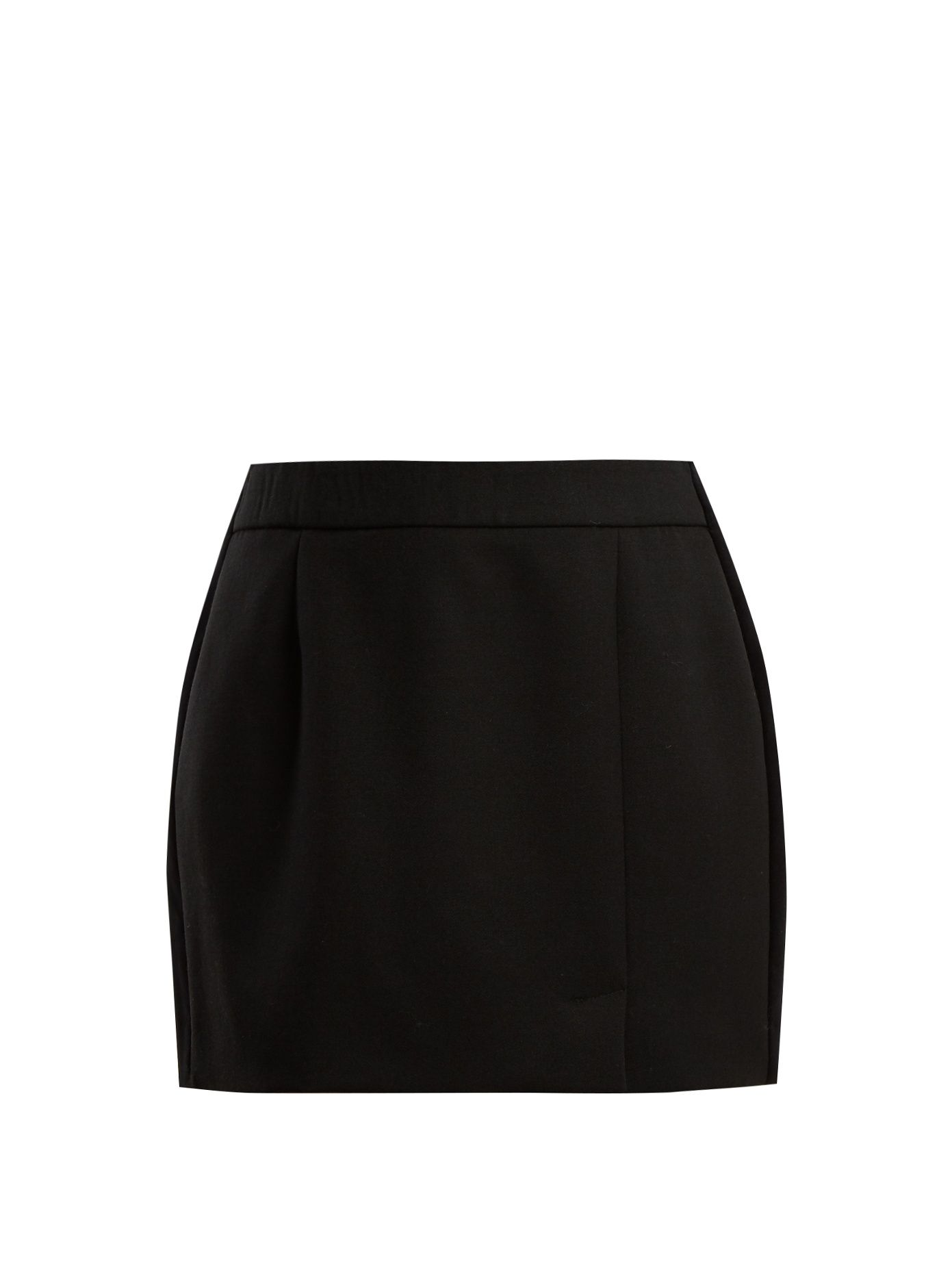 Alexa side-striped wool-blend mini skirt Bella Freud Outlet Find Great 100% Original Factory Price dxlJqa