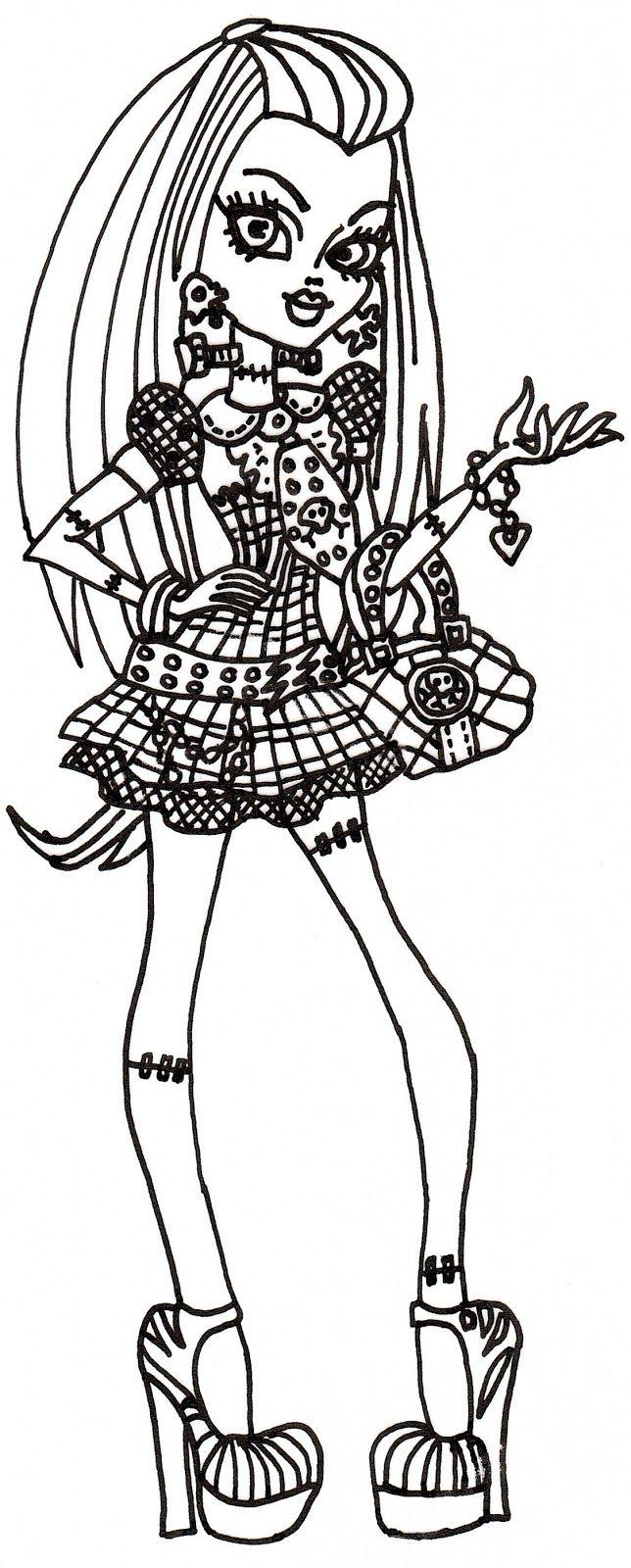 frankie+stein.PNG (644×1600) | 2 Color * Monster High | Pinterest ...