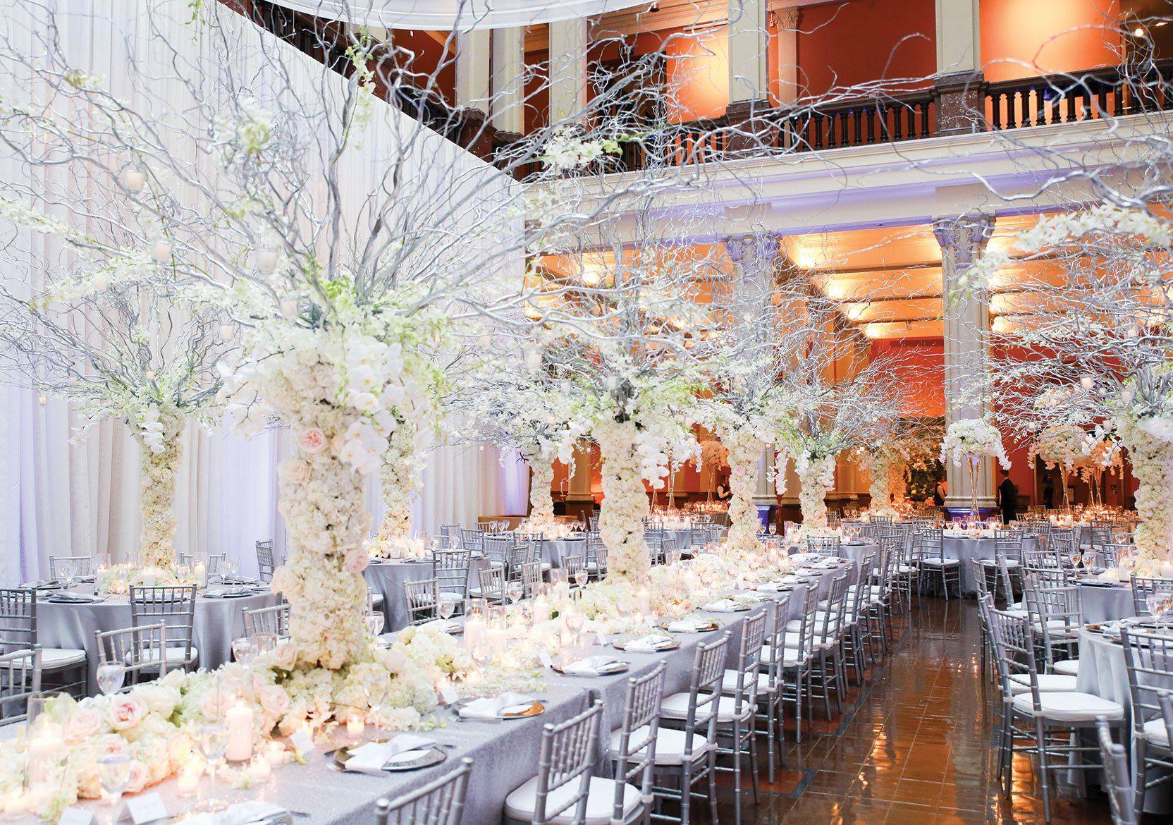 Wedding hall decoration images  HaleyandMattweddingreceptiong  Venue Decor  Pinterest