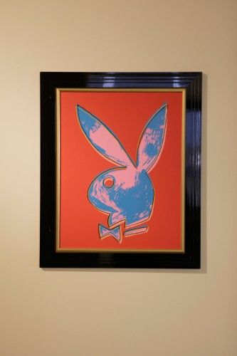 Playboy OfficeTour Playboys Los Angeles Headquarters Warhol