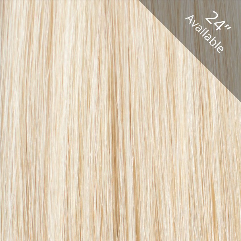 Clip In Hair Extensions 60 Platinum Blonde Hair Extensions