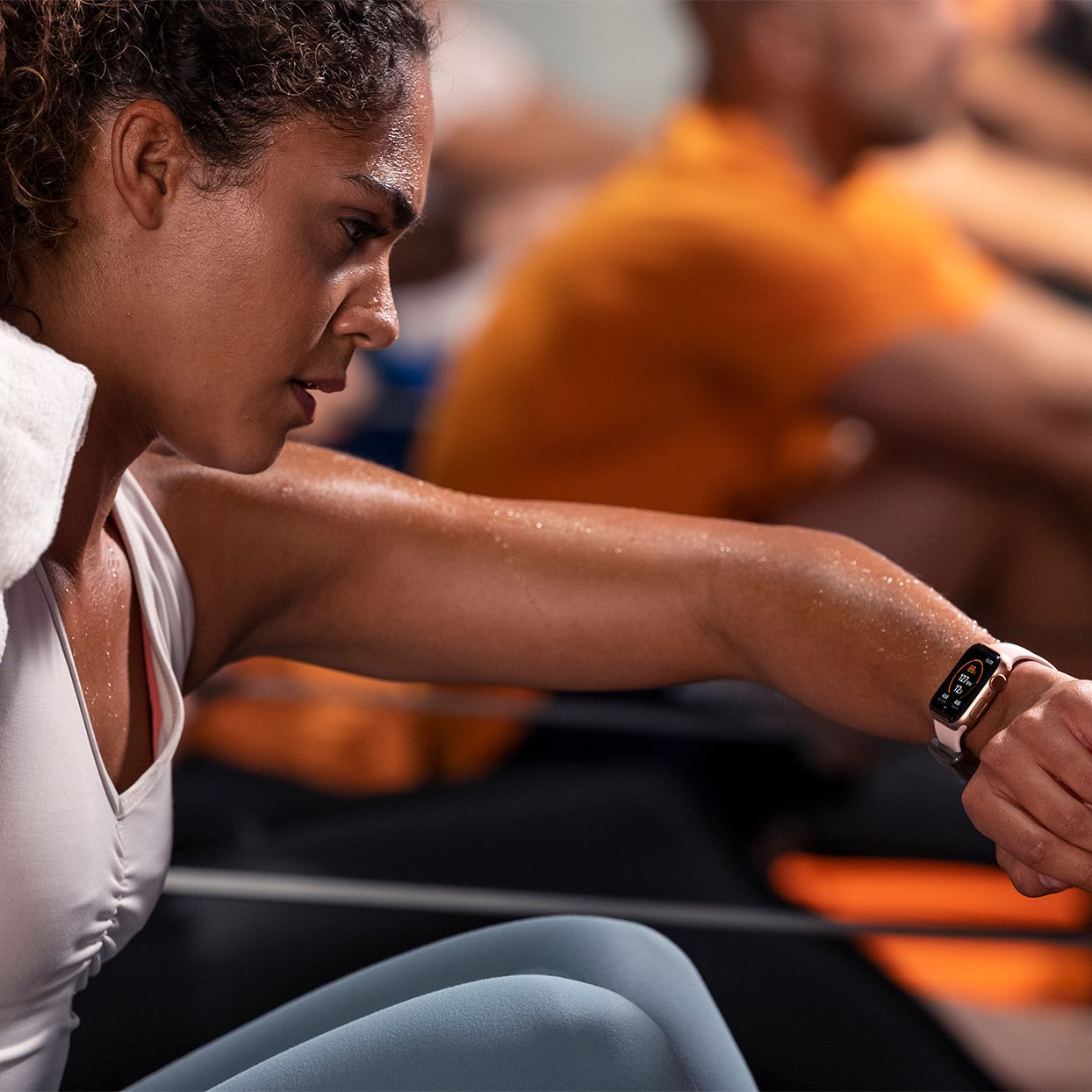 If You Re A Gym Rat With An Apple Watch You Can Now Earn Perks Just For Working Out Orange Theory Workout Apple Watch Fitness Fun Workouts