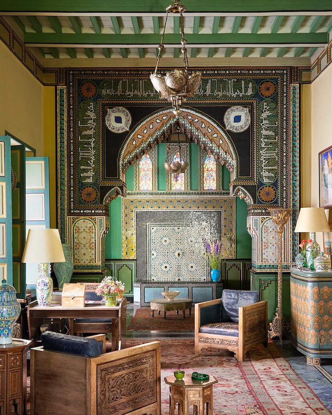 Salon Marrakech Elle Decor On Instagram Take A Look Inside Villa Oasis Yves