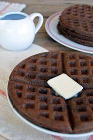 Hot Dog It's a Food Blog: Dark Chocolate Zucchini Bread Waffles
