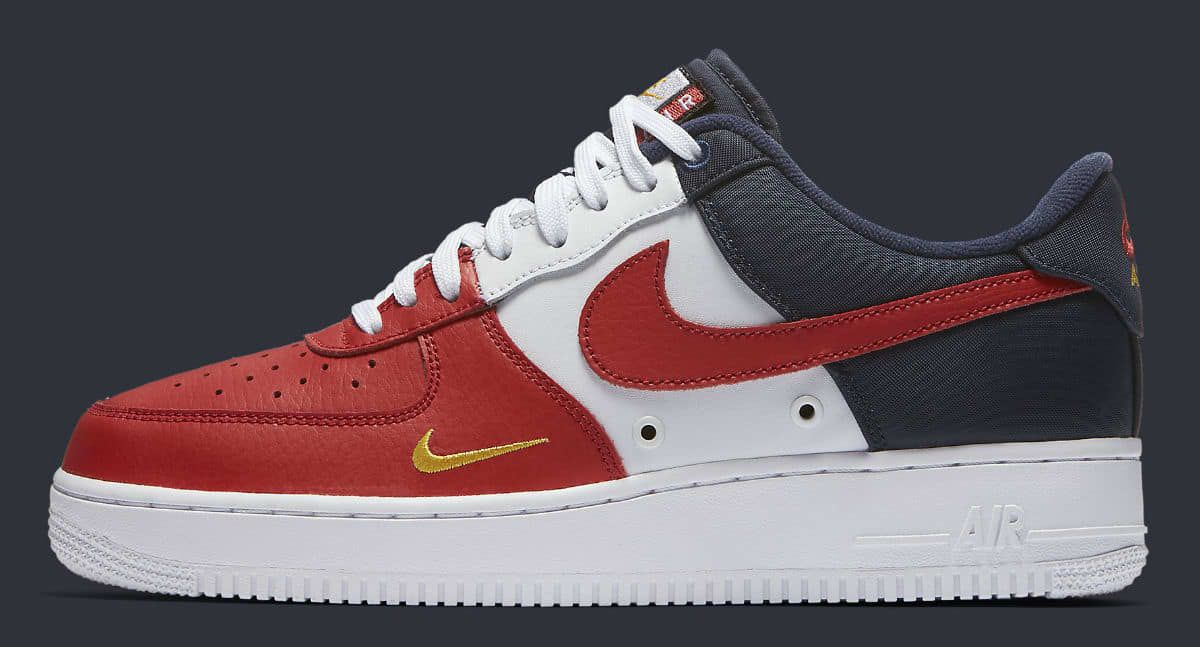 Nike Air Force 1 Low Mini Swoosh USA Release Date Profile 823511-601
