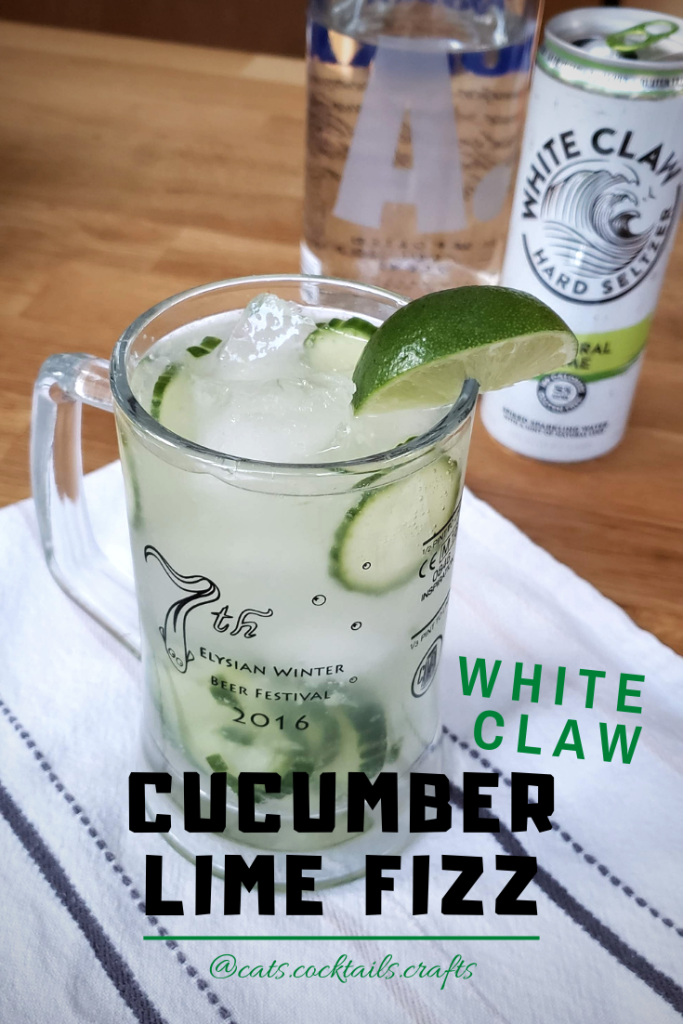 Cucumber Lime White Claw Fizz Cats Cocktails Crafts Mixed Drinks Recipes Lime Fizz Fizz