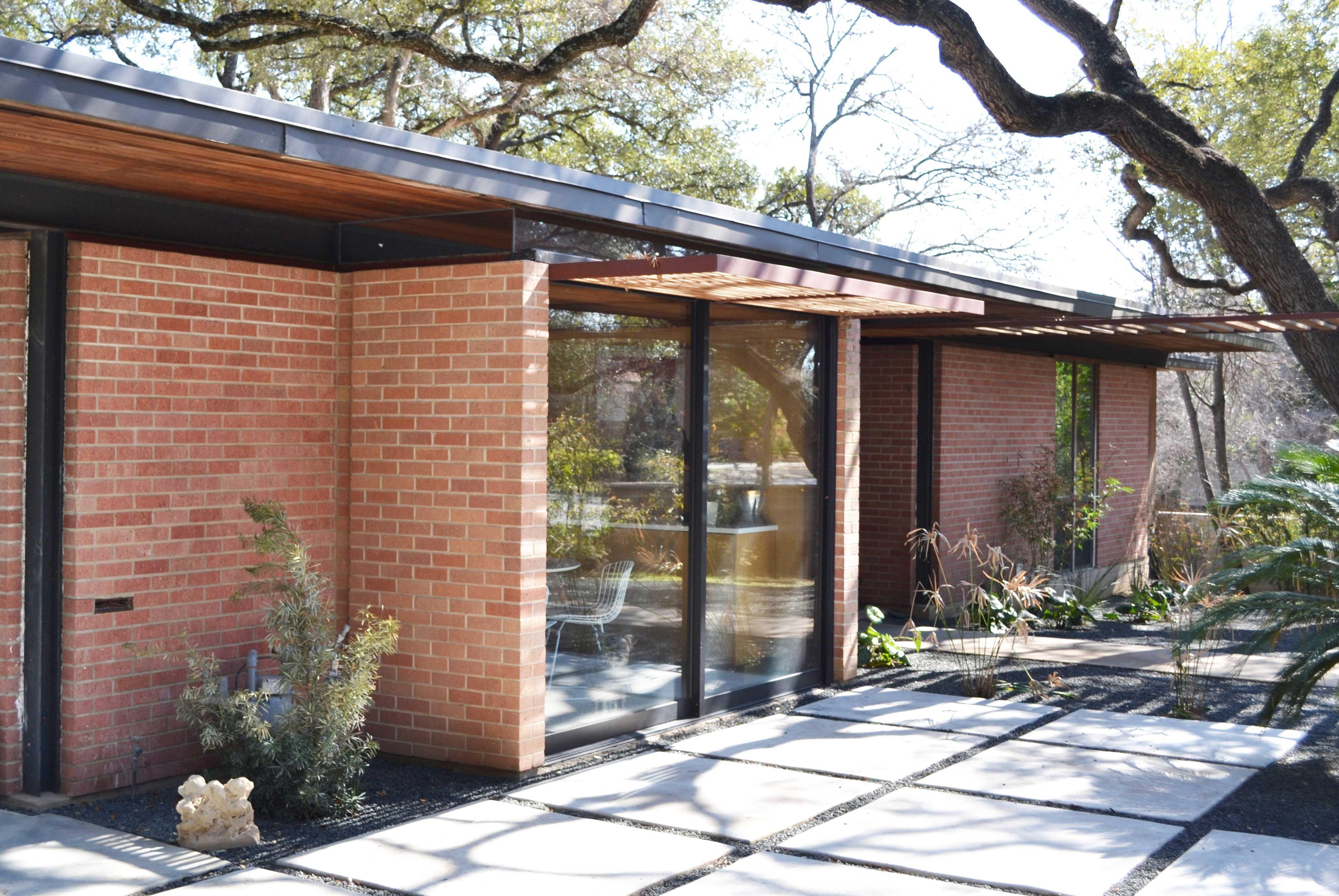 Crume House, La Ronde, Austin #atx1964 | Mid-Century Modern ...