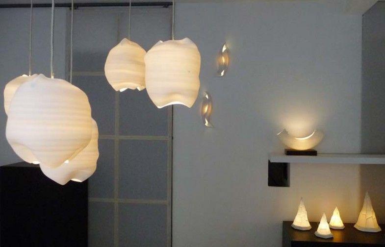 porcelain lighting. Light Sculpture By Margaret O\u0027Rorke - Translucent Porcelain Lighting S