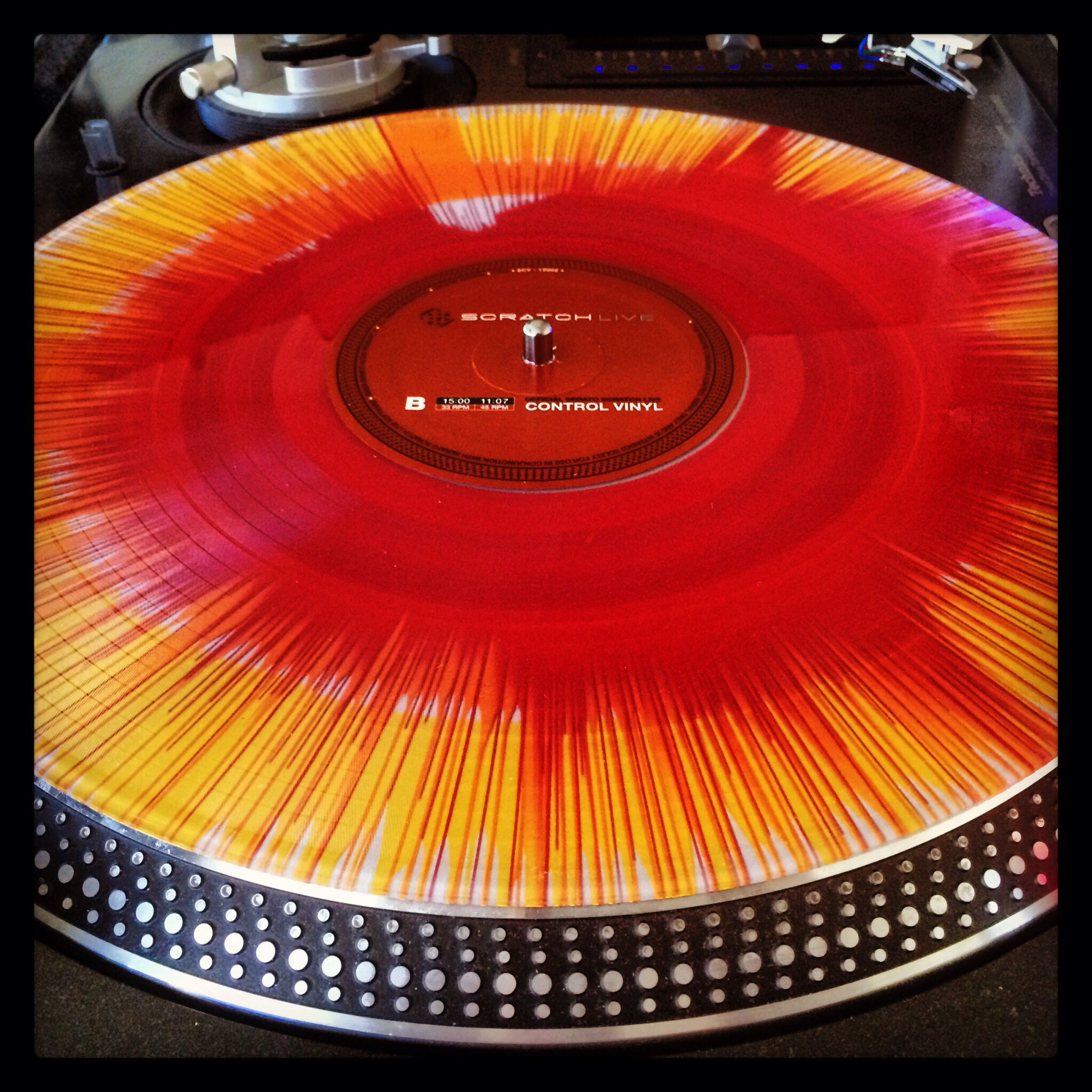 Custom Serato Rane Control Vinyl From Oj Dawoodi Turn Table Vinyl Vinyl Dj Equipment
