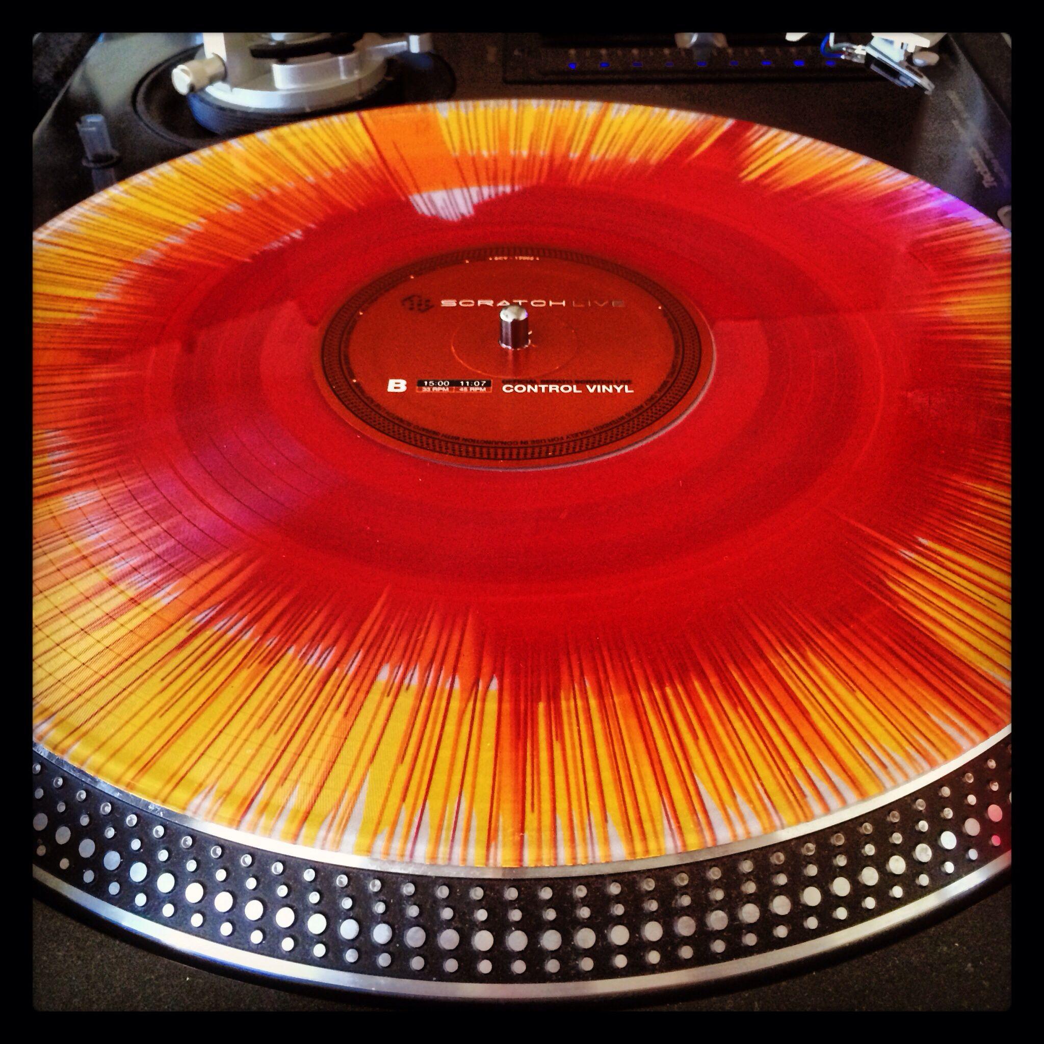 Custom Serato Rane Control Vinyl From Oj Dawoodi Turn Table Vinyl Vinyl Dj Equipment