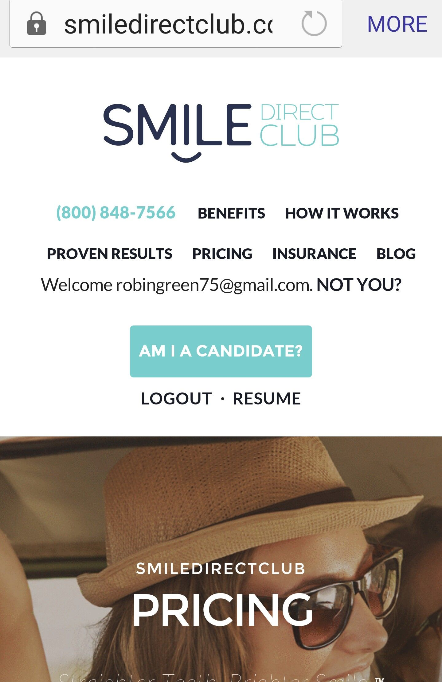 smile direct club insurance